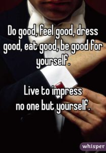 Impress yourself